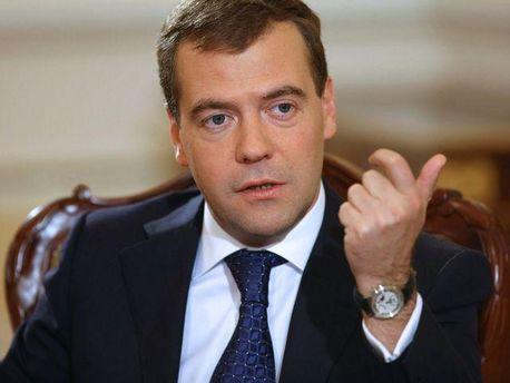 Дмитрий Медведєв