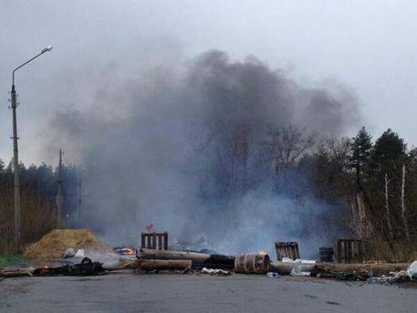 Разгромлен блокпост в Славянске