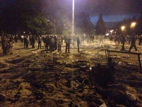 После пожара в Одессе