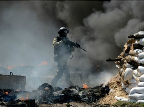 В Амвросиевке - стрельба на блокпосте, - СМИ