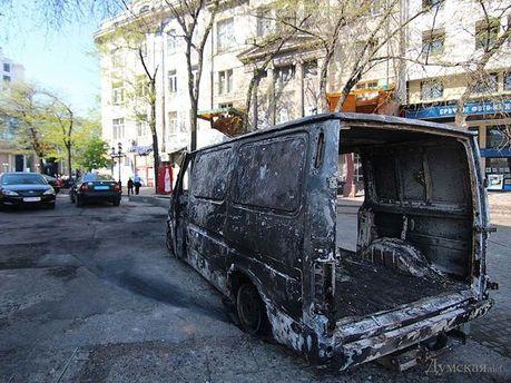 После беспорядков в Одессе