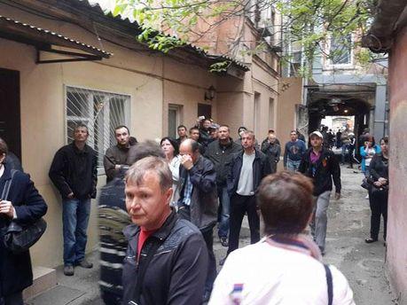 Двір УМВС в Одесі