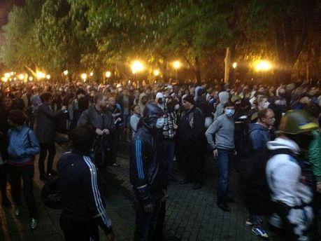 Проукраинские активисты в Одессе