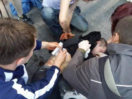Пострадавшие во время столкновений в Одессе