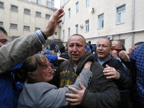 Освобождение сепаратистов в Одессе