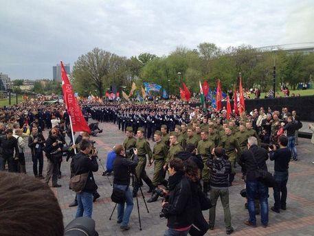 Парад в Донецьку