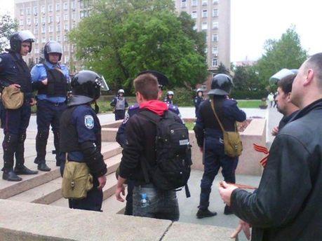 На мітингу у Миколаєві