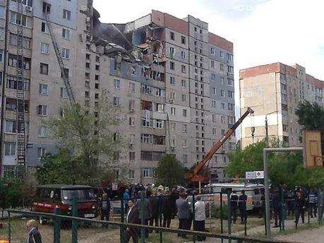 В Николаеве взорвалась 9-этажка