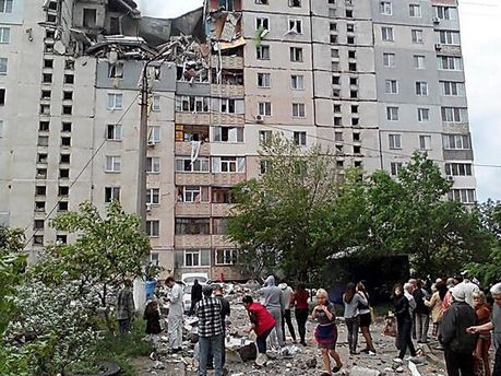 Вибух у Миколаєві