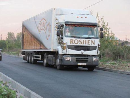 Вантажівка Roshen
