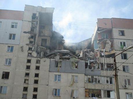 Взрыв в многоэтажке