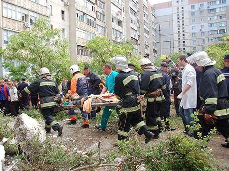 Спасательные работы в Николаеве