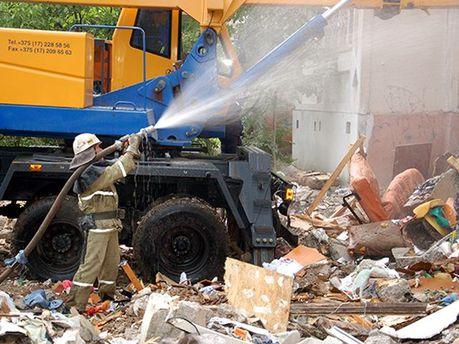 Наслідки вибуху у Миколаєві