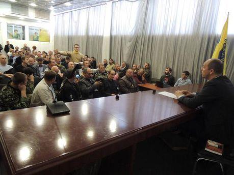 Учредительное собрание Самообороны Майдана