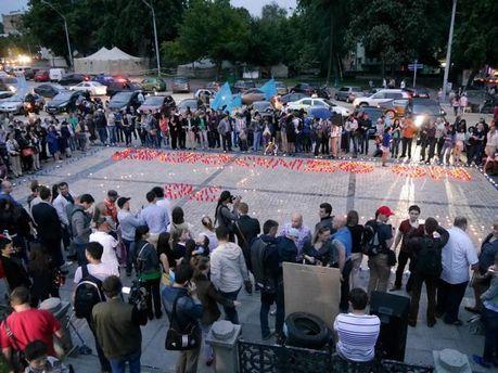 Вшанування жертв депортації