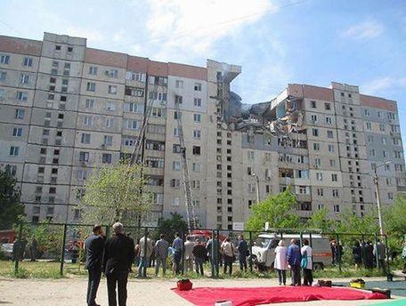 Взрыв в николаевской многоэтажке