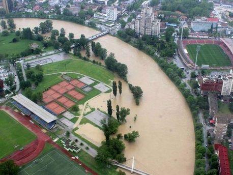 Наводнение на Балканах