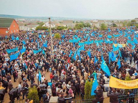 Молебен крымских татар