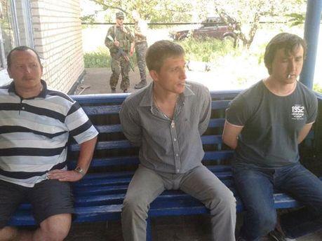 Затримані російські журналісти