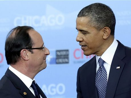 Франсуа Олланд и Барак Обама