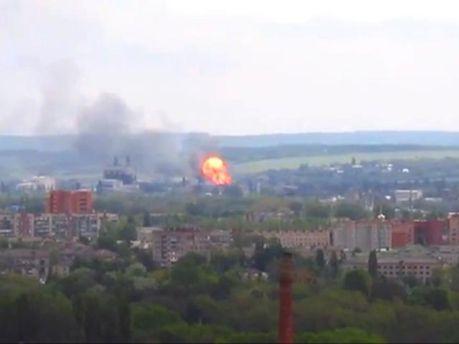 Взрыв в Славянске