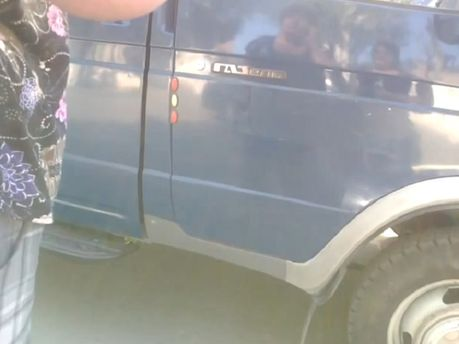 В Краматорске местные жители выгоняют сепаратистов (Видео)