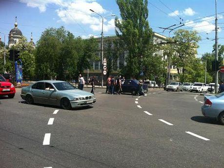 Сутички в центрі Донецька