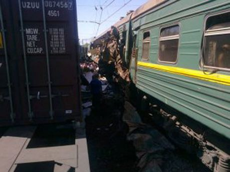 Залізнична аварія в Росії