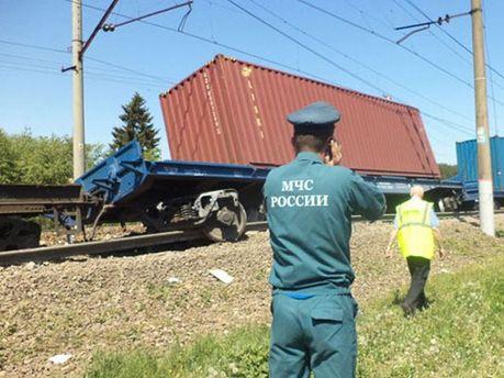 Аварія на залізниці в Підмосков'ї