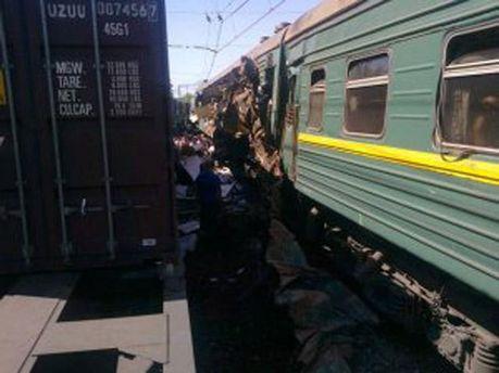 Железнодорожная авария в России