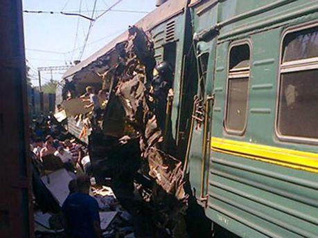 Залізнична аварія у Підмосков'ї