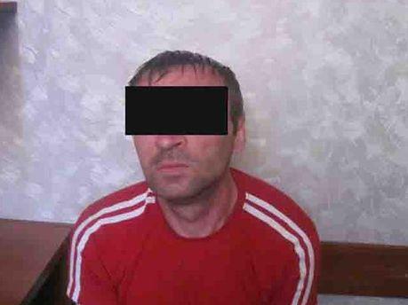 Затриманий громадянин РФ