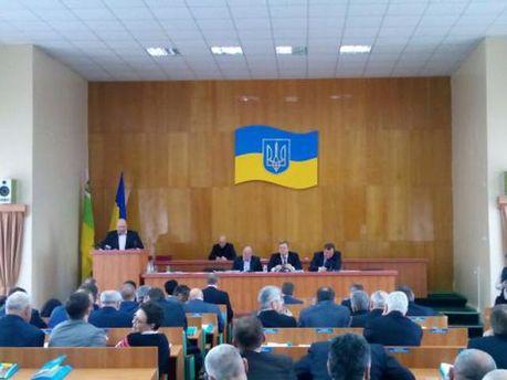 Заседание Луганского облсовета