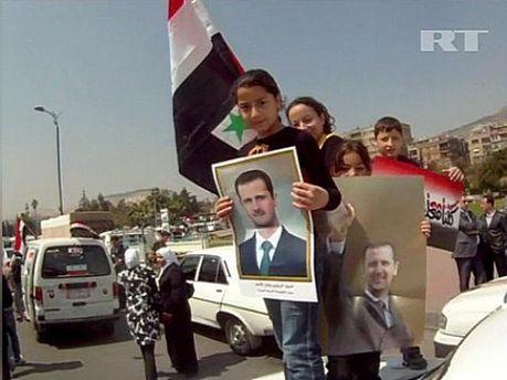 Демонстрація на підтримку Асада