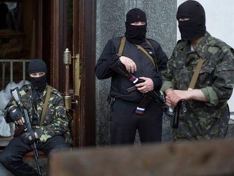 Вооруженные боевики ДНР