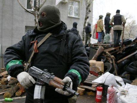 Озброєний бойовик