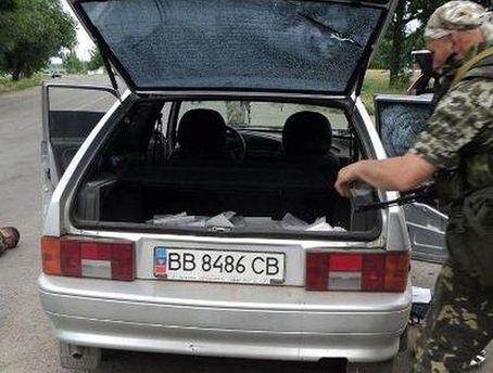 Автомобиль нападавших