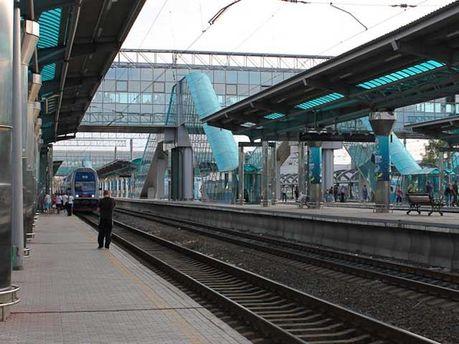 Донецький залiзничний вокзал
