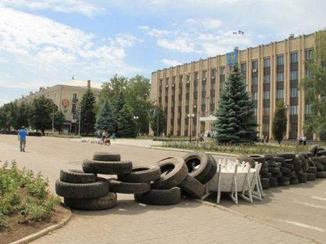 Барикади в Артемівську