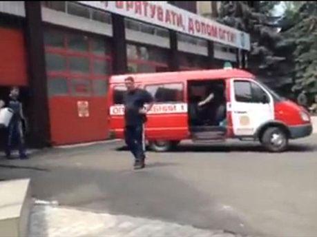 Евакуація працівників ДСНС