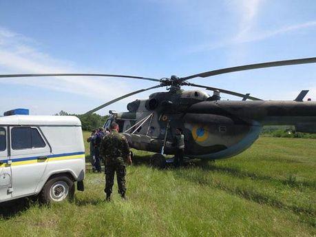 Терористи збили вертоліт