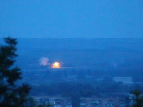 Стрельба в Славянске продолжается (Видео)