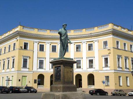 Памятника Дюку де Ришелье в Одессе