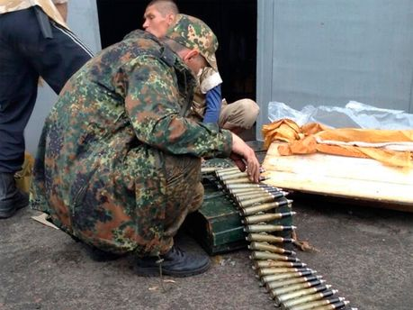 Террористы в Славянске