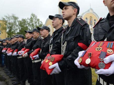 Прощание с генерал-майором Сергеем Кульчицким во Львове