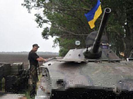 Українські військовослужбовці