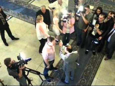 Ляшко выгнал журналистов