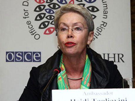 Представник ОБСЄ Хайді Тальявіні
