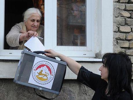 Голосування в Південній Осетії