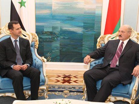 Александр Лукашенко и Башар Асад